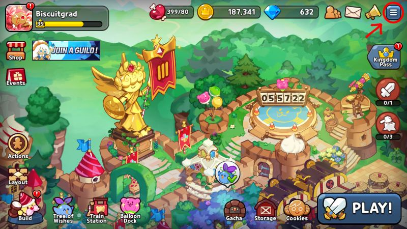 cookie run kingdom rewards step 1