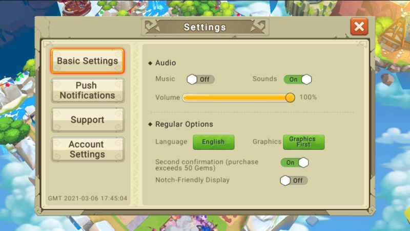 dragon tamer redeem code step 2 settings