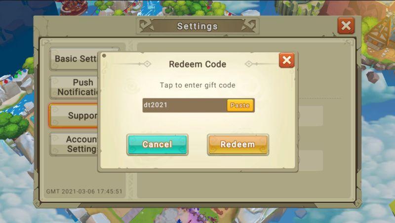 dragon tamer redeem code step 4