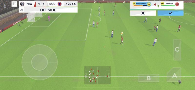 dream league soccer 2021 offside