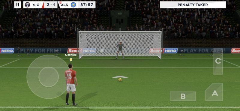 dream league soccer 2021 penalty kick tips
