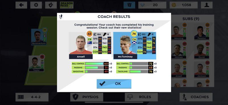 dream league soccer 2021 player training