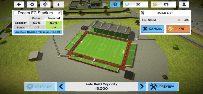 dream league soccer 2021 stadium upgrade