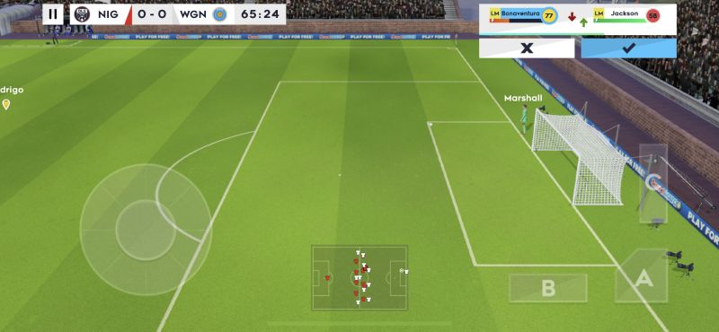 dream league soccer 2021 substitution