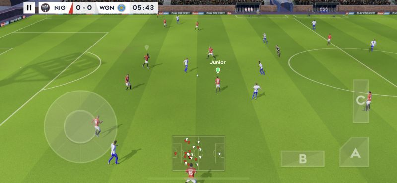 dream league soccer 2021 switching players