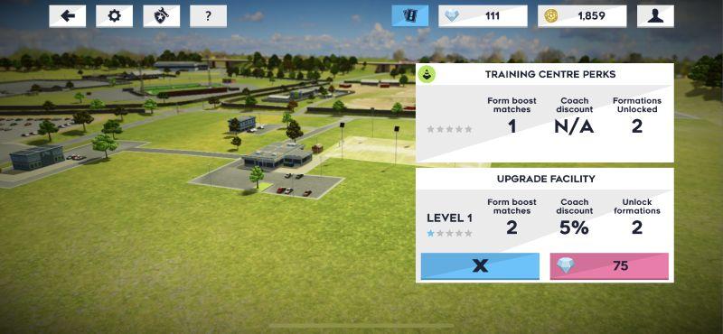 dream league soccer 2021 training centre upgrade