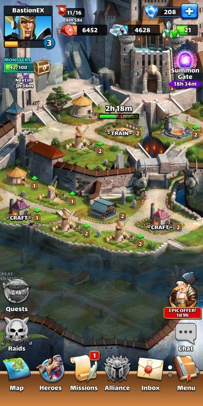 empires & puzzles base