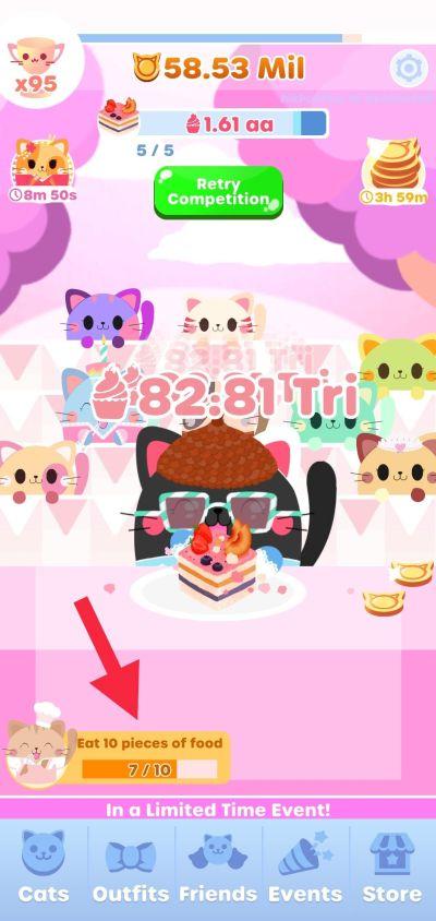 greedy cats kitty clicker achievement rewards