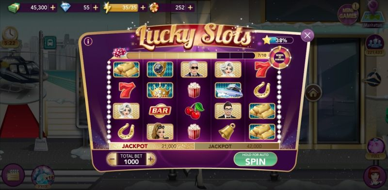 hollywood story fashion star lucky slots