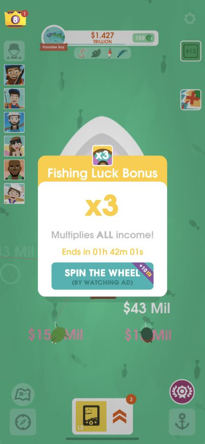 hooked inc fishing luck