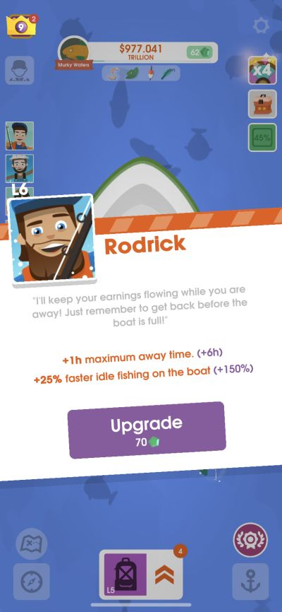 hooked inc rodrick