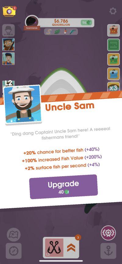 hooked inc uncle sam