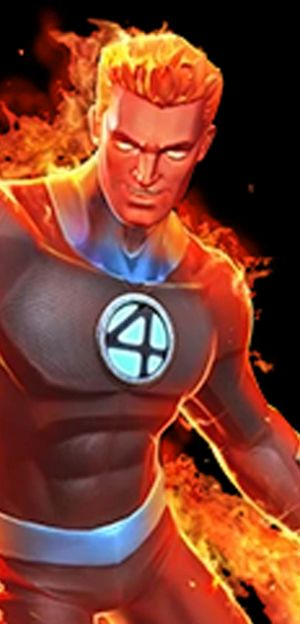 human torch marvel contest of champions