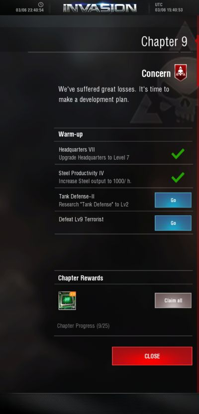 invasion modern empire chapter missions
