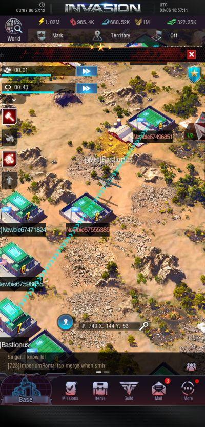 invasion modern empire scouting
