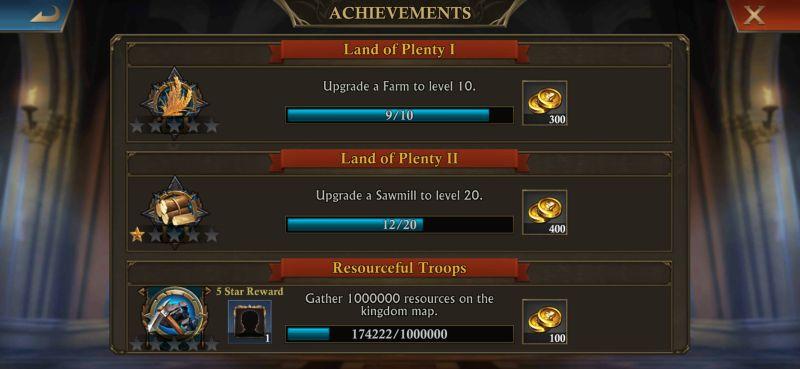 king of avalon achievements