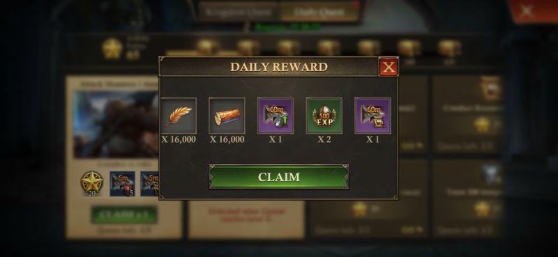 king of avalon daily reward