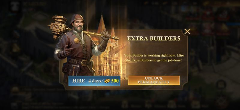 king of avalon extra builders