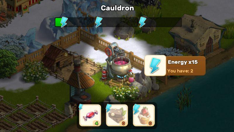 klondike adventures cauldron