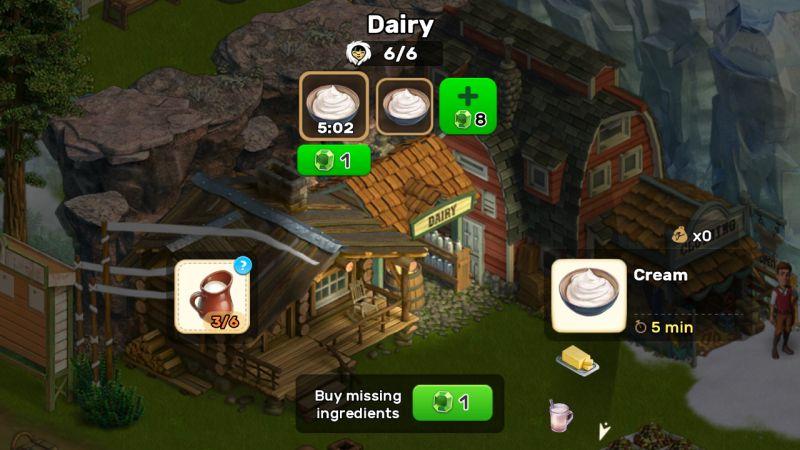 klondike adventures dairy