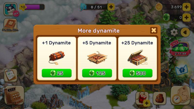 klondike adventures dynamite