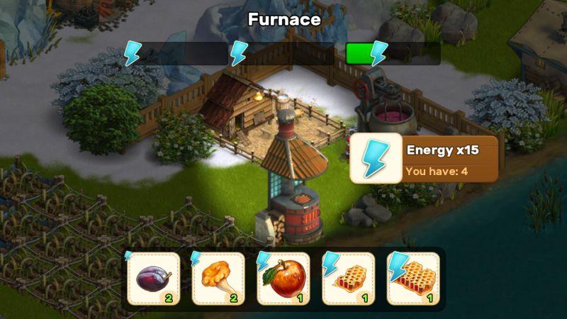 klondike adventures furnace
