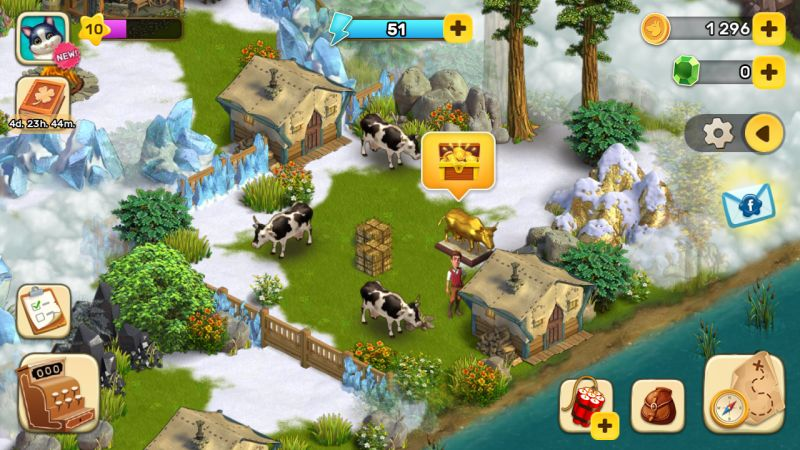 klondike adventures gold animals