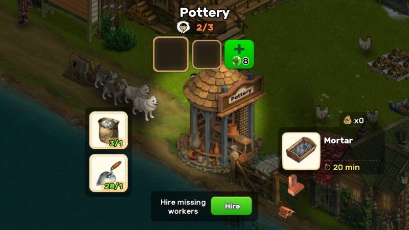 klondike adventures pottery