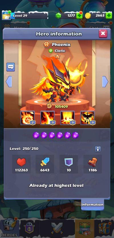 phoenix taptap heroes