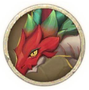 red-violet dragon tamer
