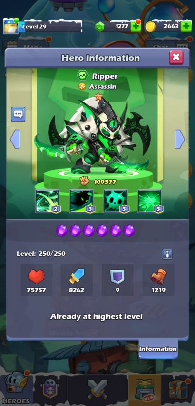 ripper taptap heroes