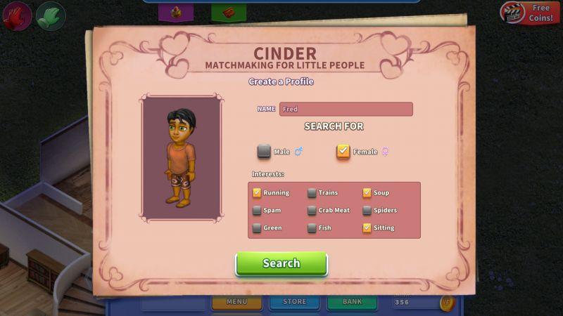 virtual families 3 dating