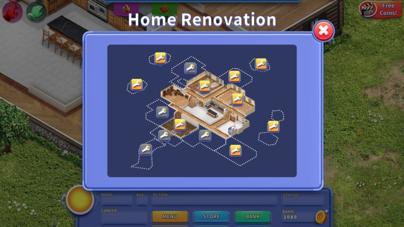virtual families 3 house layout