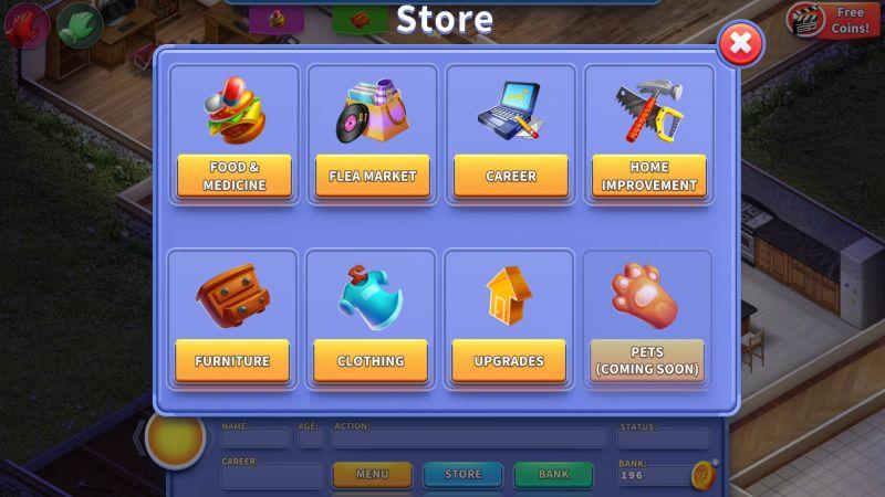 virtual families 3 store