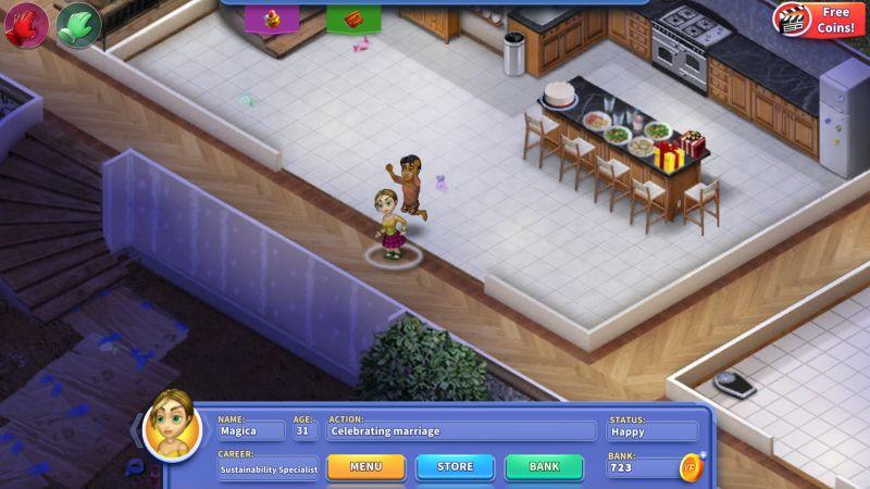 virtual families 3 wedding