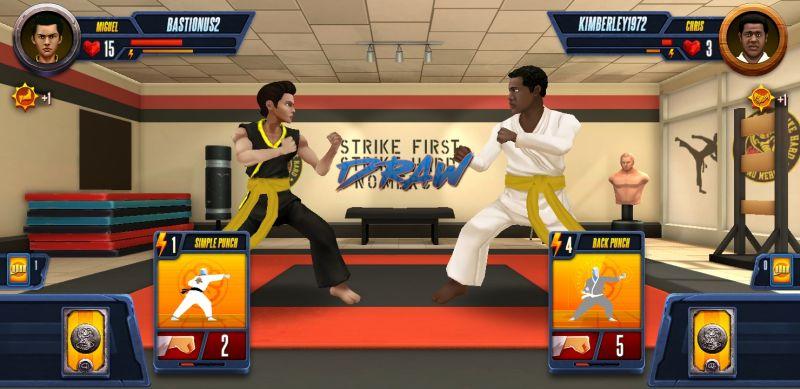 cobra kai card fighter draw