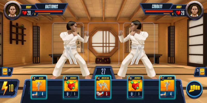 cobra kai card fighter tactics