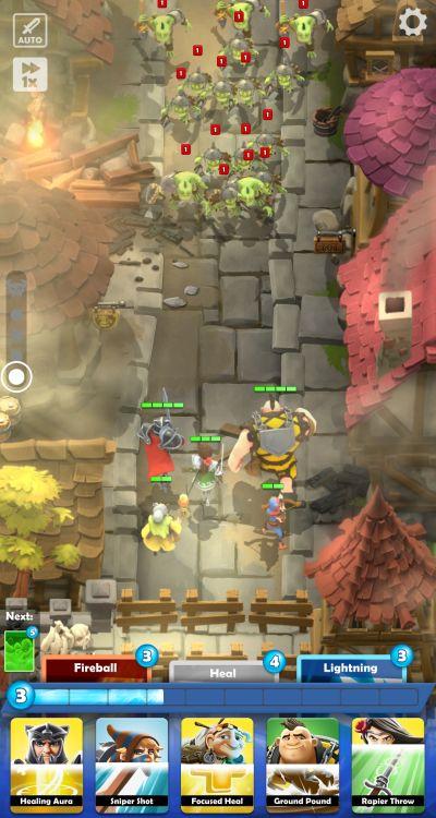 darkfire heroes auto battle