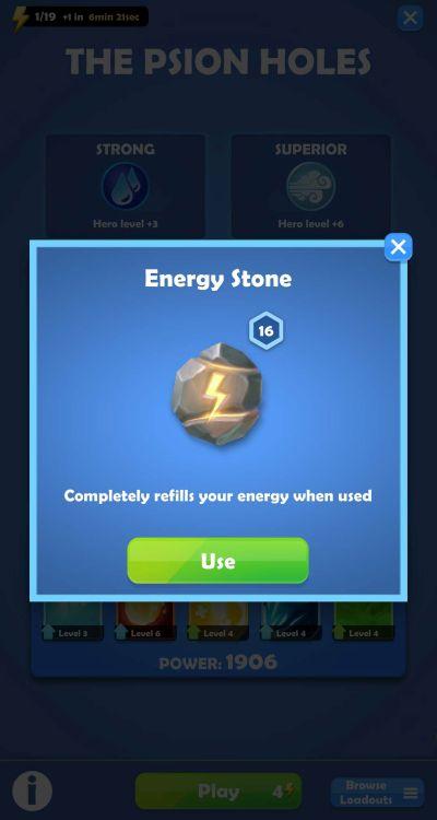 darkfire heroes energy management