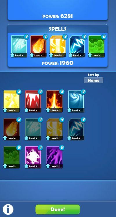 darkfire heroes spells
