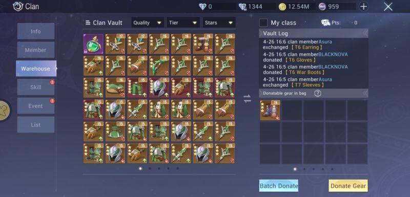 dragonicle clan vault