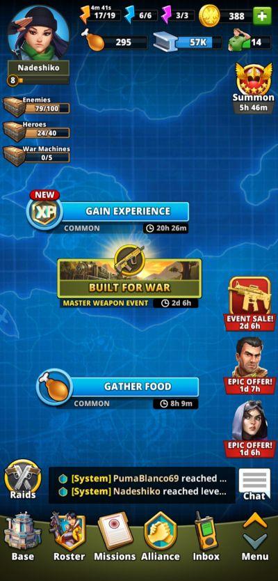 events puzzle combat