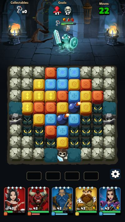fable wars skeleton blocks