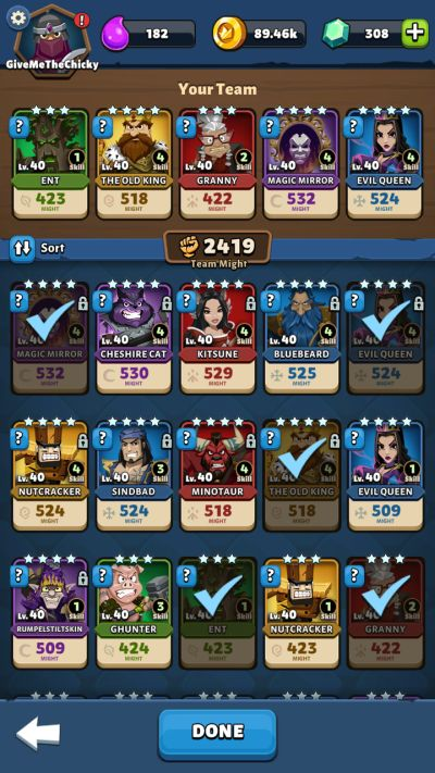 fable wars team formation