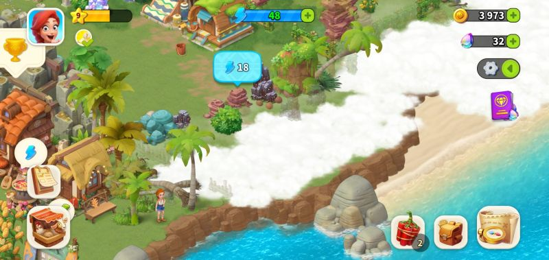 clearing land in family farm adventure