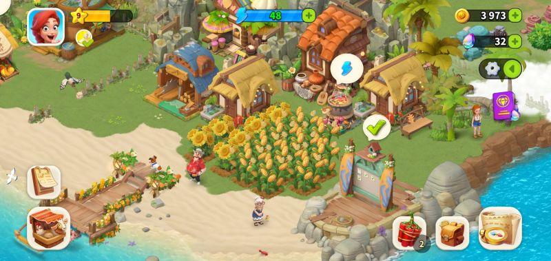 family farm adventure crops