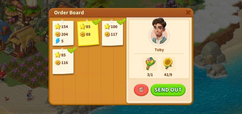 family farm adventure order board
