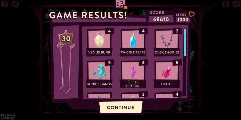 fer.al mini game result