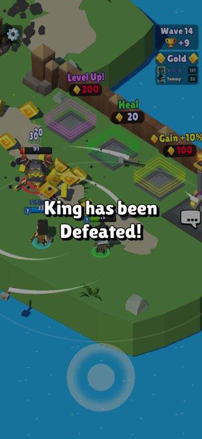hunter royale co-op defeat