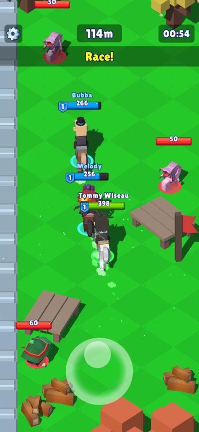 hunt royale race